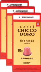 Capsule di caffè Espresso Forte Chicco d'Oro, 3 x 10 capsule