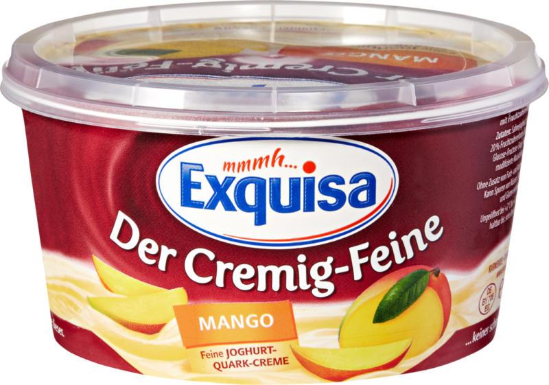 Quark alla frutta Exquisa, Mango, 470 g