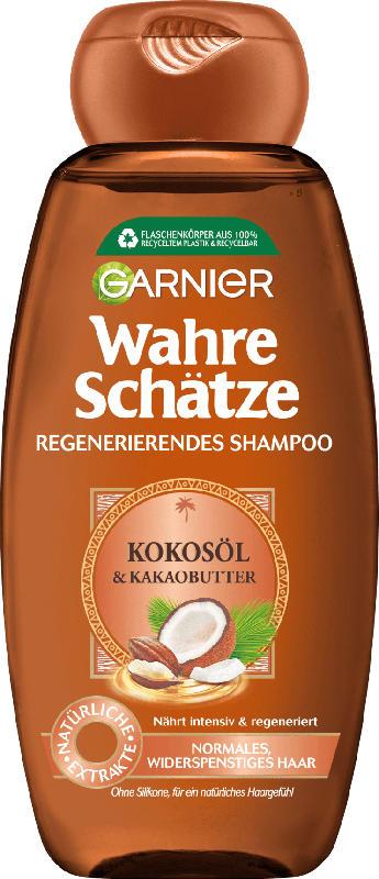Wahre Schätze Shampoo Regenerierend Kokosöl & Kakaobutter