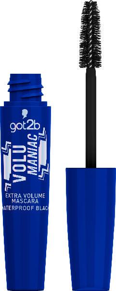 got2b Wimperntusche Extra Volume Mascara Volumaniac Waterproof Black