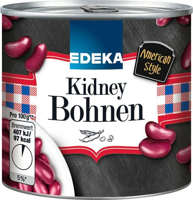 EDEKA Kidney Bohnen