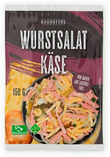 Bauhofers Wurstsalat-Käse