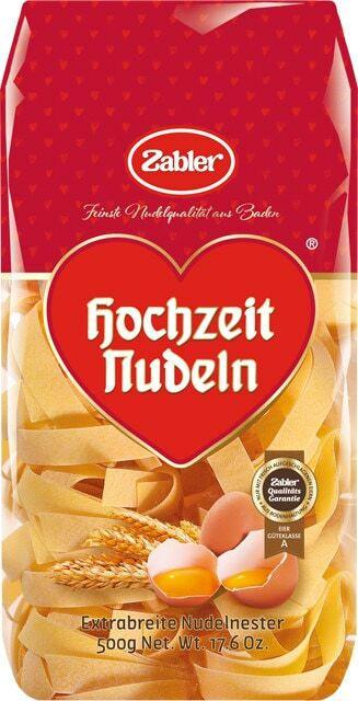 Zabler Hochzeit Nudeln