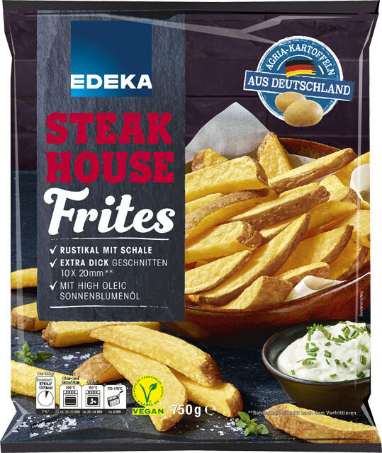 EDEKA Steakhouse Frites mit Schale