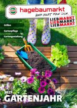 Hagebau Lieb Markt Flugblatt - Gartenkatalog 2021