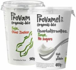 Bio-Soja-Alternative zu Topfen oder Joghurt ohne Zucker