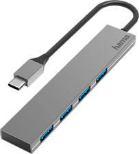 HAMA 200101 - Hub USB (Grigio)