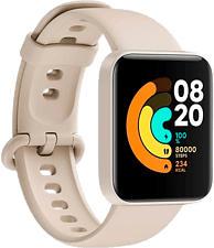 XIAOMI Mi Watch Lite - Smartwatch (TPU, Avorio)