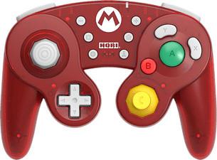 HORI Battle Pad Mario Edition - Contrôleur (Rouge)