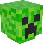 MediaMarkt PALADONE Minecraft Creeper - Lampe décorative (Vert/Noir)