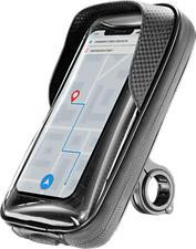 CELLULAR LINE Rider Shield - Wasserdichte Smartphone-Lenkerhalterung (Schwarz)