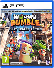 PS5 - Worms Rumble: Fully Loaded Edition /D