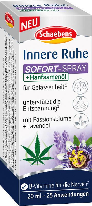 Schaebens Innere Ruhe Sofort-Spray
