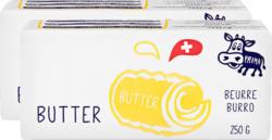 Prima Schweizer Butter, 2 x 250 g