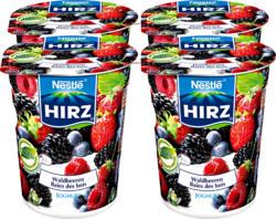 Yogurt Hirz, Frutti di bosco, 4 x 180 g