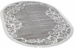 Teppich Sunshine ca. 140 x 200 cm oval 1081 grau