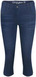 Damen Capri-Jeans mit Faltenwaschung (Nur online)