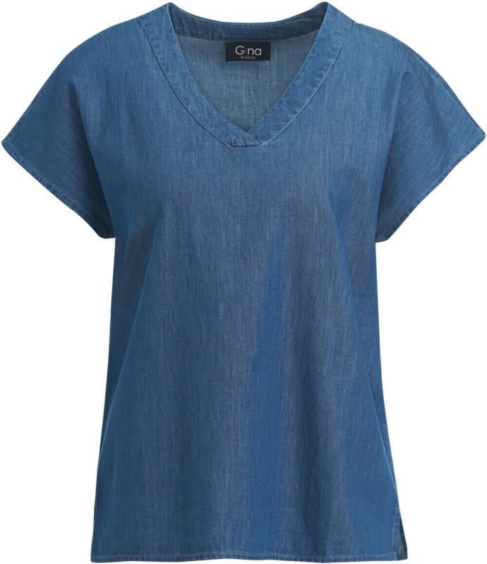 Damen Bluse in Denim-Optik (Nur online)