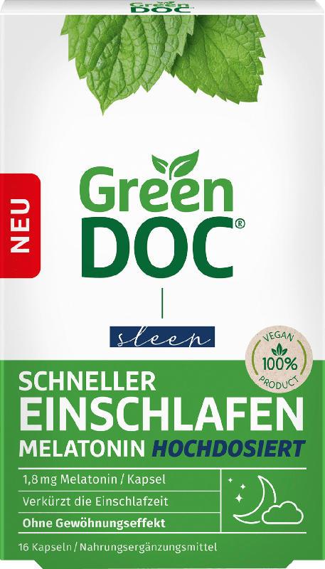 Green Doc Melatonin hochdosiert  16 St.