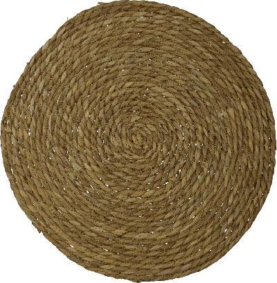 Dekorieren & Einrichten Platzset Seegras braun