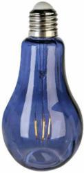 Dekoleuchte Glühfäden Dunkelblau H: 22 cm