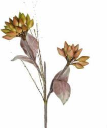Kunstblume Buds-Blüte mit Knospen H: 93 cm