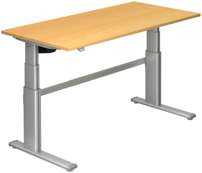 Schreibtisch 160/80/66-130 cm