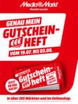 Media Markt Mein Gutscheinheft - bis 25.07.2021