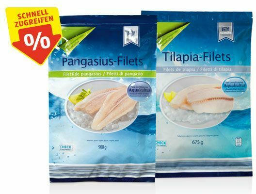 ALMARE SEAFOOD Pangasius-/Tilapiafilets