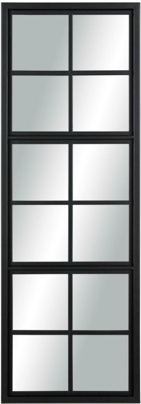 Wandspiegel in Schwarz