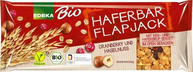 EDEKA Bio Haferbar Flapjack