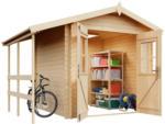 toom Baumarkt Weka Gartenhaus 'Louis' Fichtenholz naturbelassen 200 x 200 cm - bis 25.07.2021