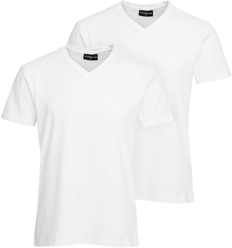 2 Herren T-Shirts mit V-Ausschnitt (Nur online)