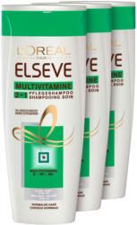 L'Oréal Elseve Shampoo Multivitamine 2in1 3 x 250 ml -
