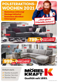 Möbel Kraft: POLSTERAKTIONSWOCHEN 2021