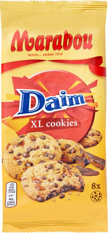 Marabou XL Cookies Daim, 184 g