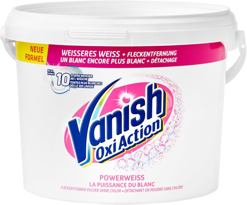 Vanish Oxi Action, White, 2.25 litres