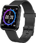 MediaMarkt LENOVO E1 Pro - Smartwatch (Silikon, Schwarz)