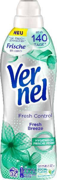 Vernel Weichspüler Fresh Control Fresh Breeze 32WL
