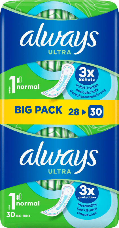 always Damenbinden Ultra Normal BigPack