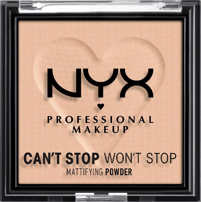NYX PROFESSIONAL MAKEUP Gesichtspuder Can't Stop Won't Stop Mattifying Medium 03