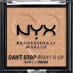 dm-drogerie markt NYX PROFESSIONAL MAKEUP Gesichtspuder Can't Stop Won't Stop Mattifying Tan 06 - bis 16.08.2021