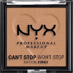 NYX PROFESSIONAL MAKEUP Gesichtspuder Can't Stop Won't Stop Mattifying Caramel 07