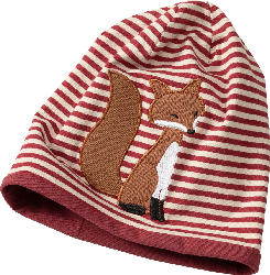 PUSBLU Kinder Mütze, Gr. 48/49, mit Baumwolle, rot