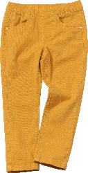 PUSBLU Kinder Hose, Gr. 92, mit Baumwolle, gelb