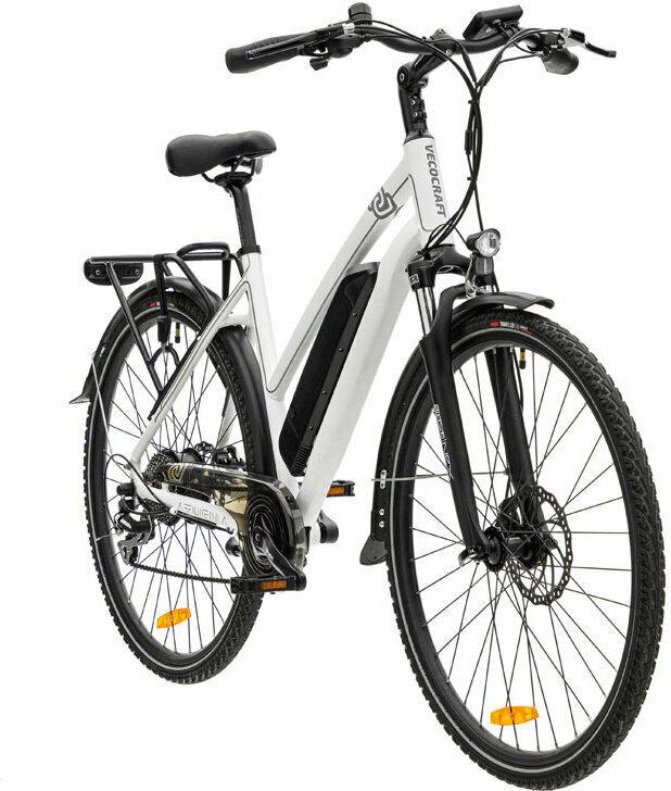 """Trekking E-Bike """"Athena 8"""", 17,5 Ah, weiß 17,5 Ah"""
