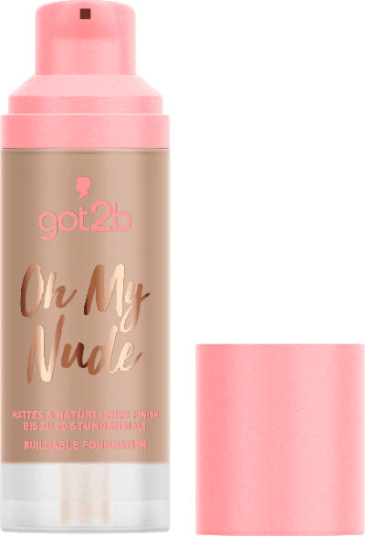 got2b Make-up Buildable Foundation Oh My Nude 080 Sun Kissed