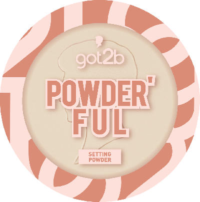 got2b Puder Powder'ful Setting Powder Banana