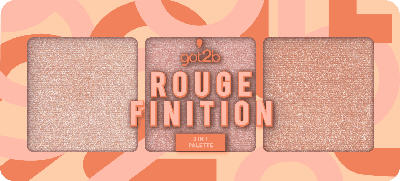 got2b Rouge Palette 3 in 1 Finition Warme Farbtöne
