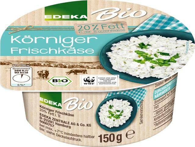 EDEKA Bio Körniger Frischkäse